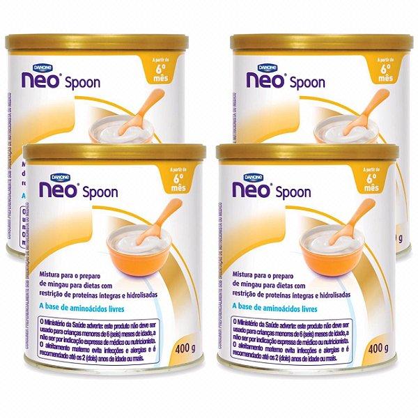 Neo Spoon 400g Danone 4 Unidades