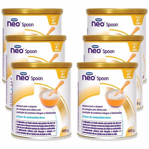 Neo Spoon 400g Danone 6 Unidades