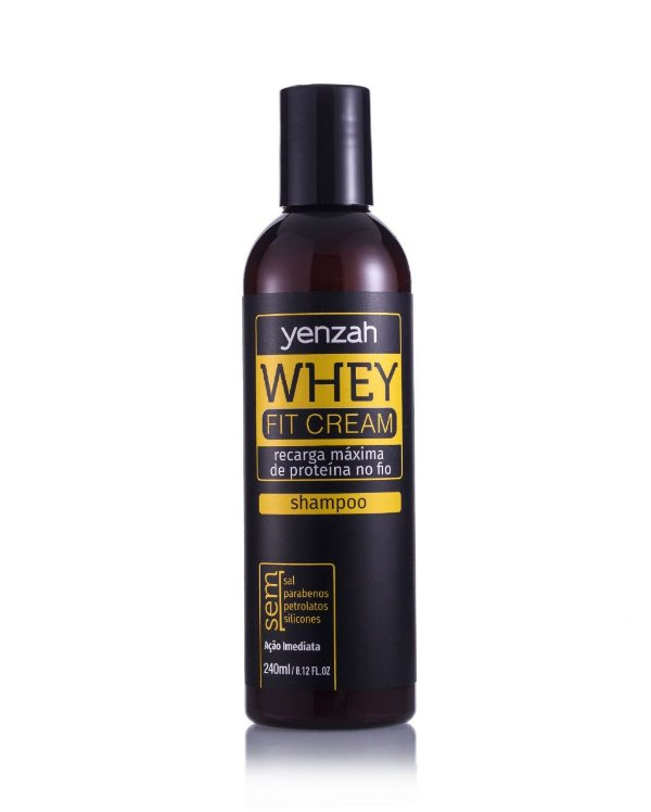 Shampoo Yenzah Power Whey Fit Cream 240ml