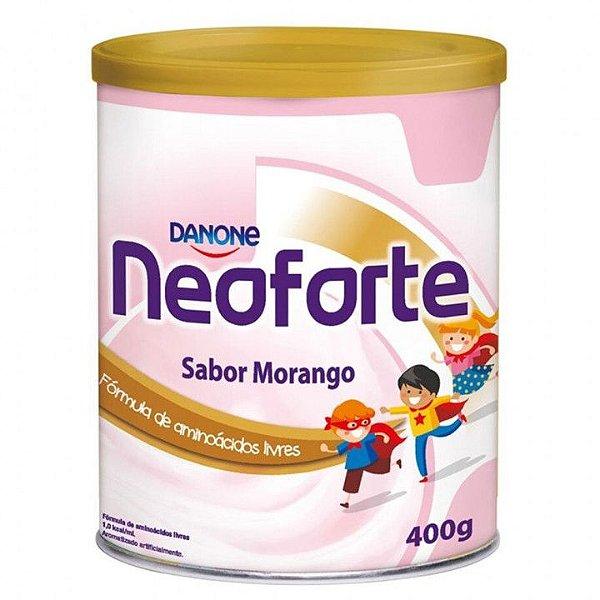 Neoforte Suplemento Infantil Sabor Morango 400g