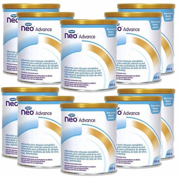 Fórmula Infantil Neocate Advance 400g 10 Unidades