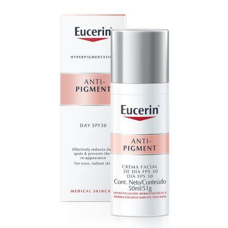 Anti Pigment Eucerin FPS 30 Creme Facial Dia 50ml
