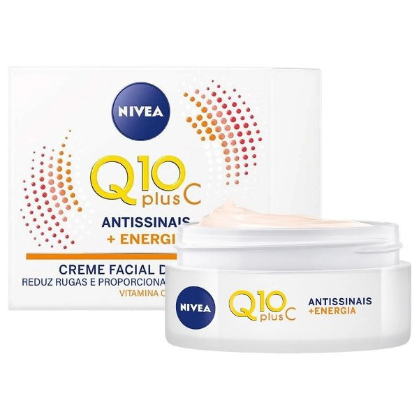 Nivea Q10 Plus C Antissinais +Energia Fps 15