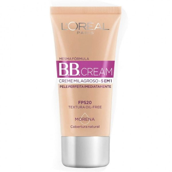 B.B. Cream Creme Milagroso 5 em 1 Base Morena 30ml Fps 20