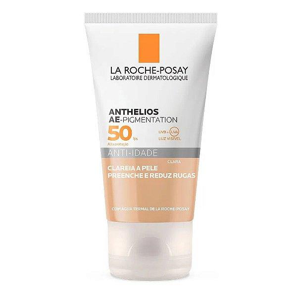 Protetor Solar Anthelios AE Pigmentation Anti-idade Fps 50 Cor Clara 40g