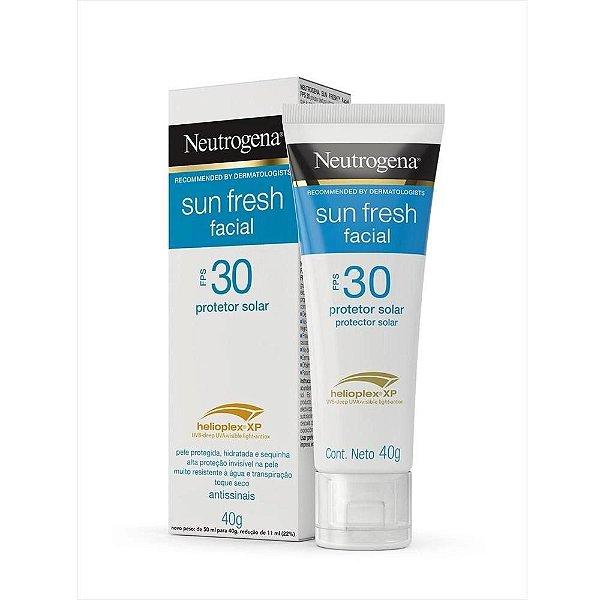 Protetor Solar Neutrogena Sun Fresh Facial Fps 30 40g