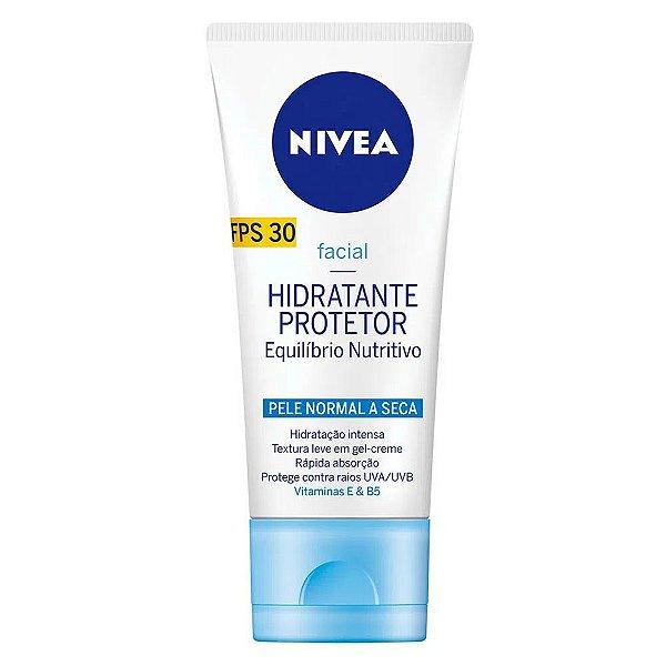 Nivea Hidratante Protetor Pele Normal a Seca Fps 30 50g