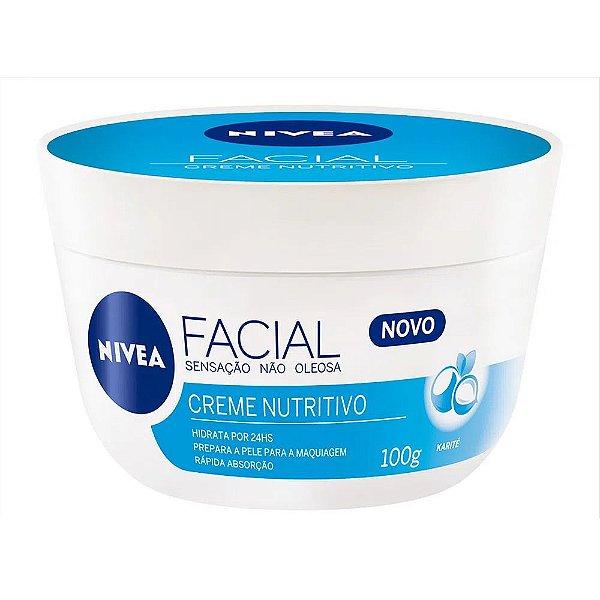 Nivea Facial Creme Nutritivo 100g