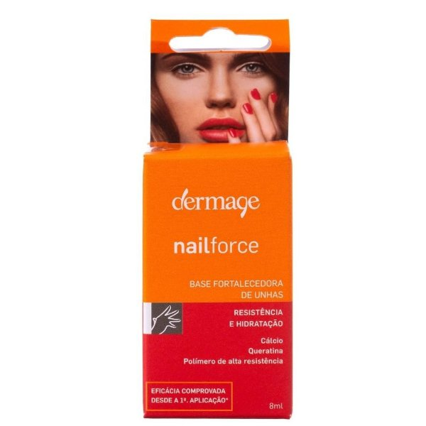 Dermage Nail Force Base Fortalecedora de Unhas 8ml