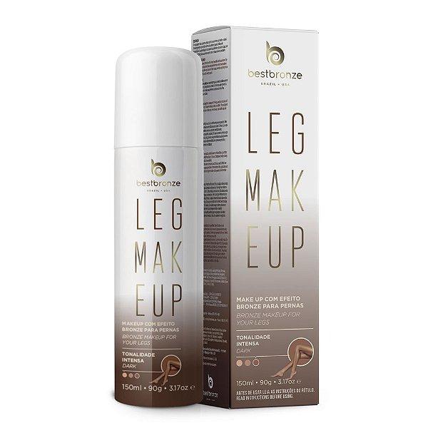Leg Makeup Para Pernas Best Bronze Intensa Dark 150ml