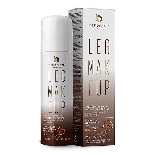 Leg Makeup Para Pernas Best Bronze Ultra Intensa Dark 150ml