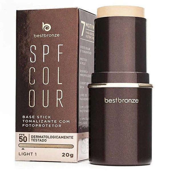 Base Tonalizante Best Bronze Fps 50 Light 1 Com 20g
