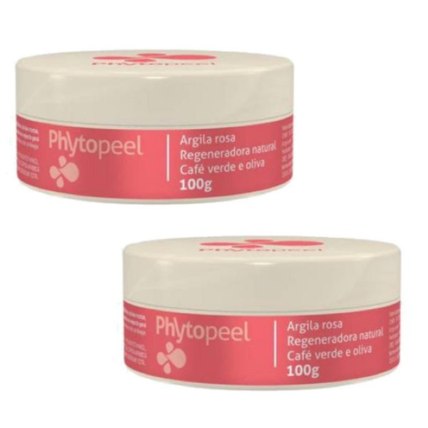 Phytopeel Mascara Facial Remoção De Manchas 100g 2 Unidades