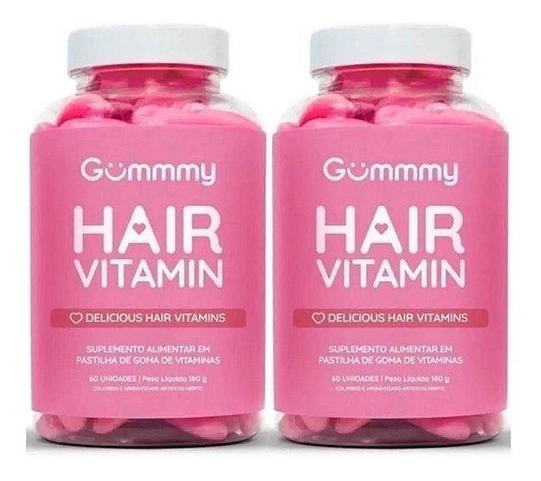 Gummmy Hair Vitamin Original com 60 Gomas 2 Unidades