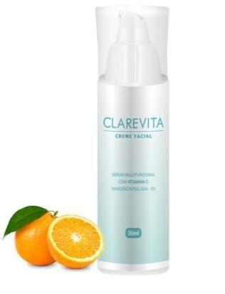 Clarevita Creme Clareador Facial 30ml