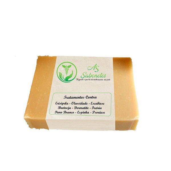 As Sabonete Medicinal Contra Escabiose e Psoríase 12g