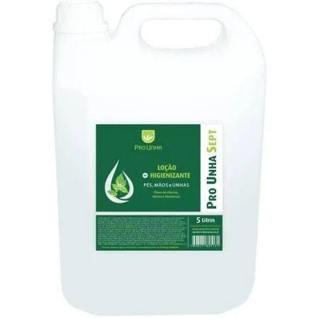 Pro Unha Sept Álcool 70% Loção Higienizante Refil 5L