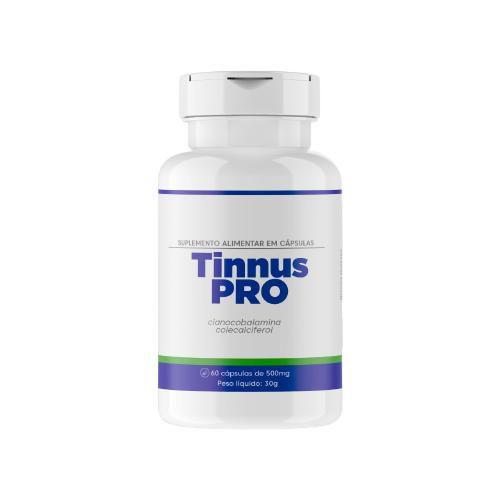 Tinnus Pro Suplemento Alimentar Com 60 Cápsulas - Original