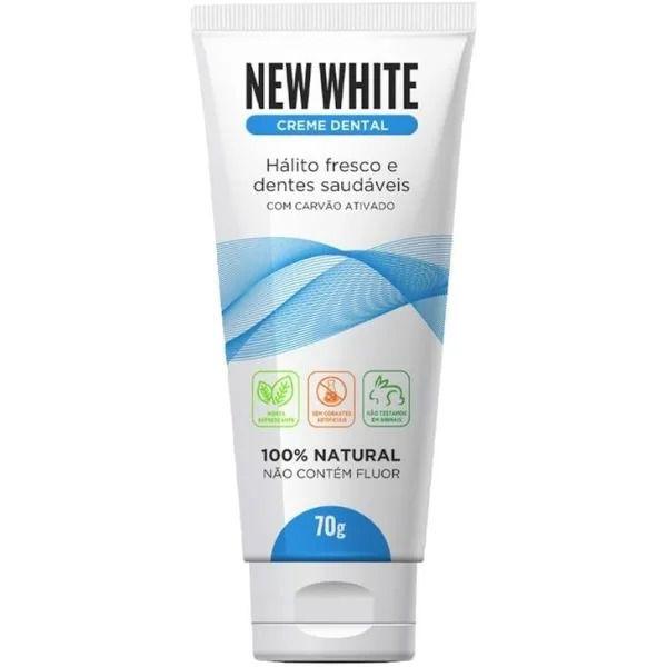 Creme Dental New White 100% Natural 70g