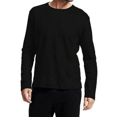 Camiseta Manga Longa 100% Algodão Penteado