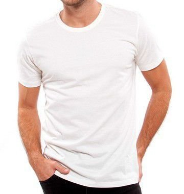 Camiseta 100% Algodão Penteado