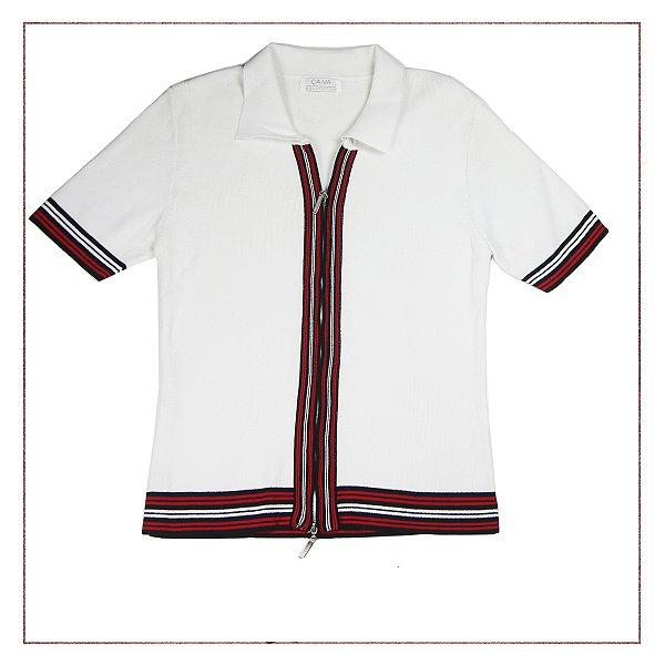 Polo Zíper ÇA-VA Collection