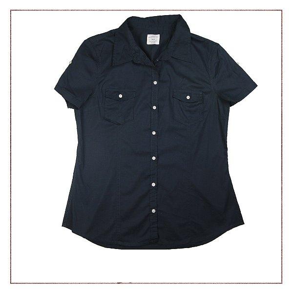 Camisa Azul H&M
