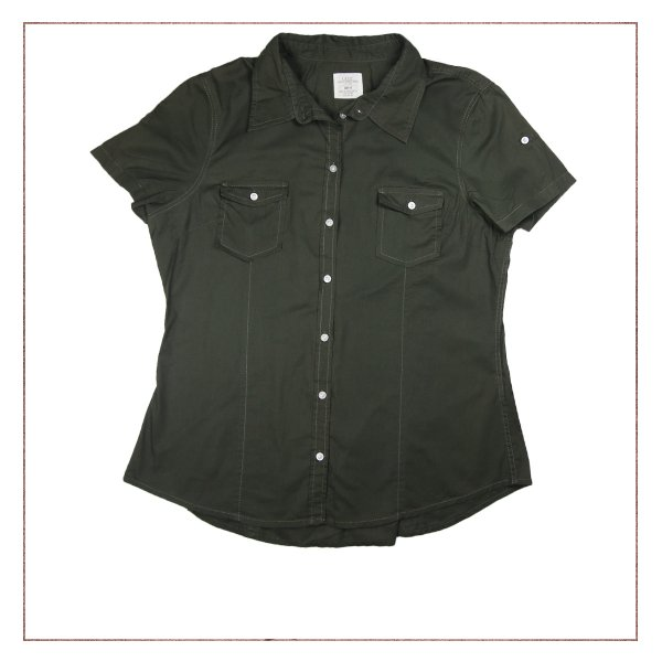 Camisa Verde H&M
