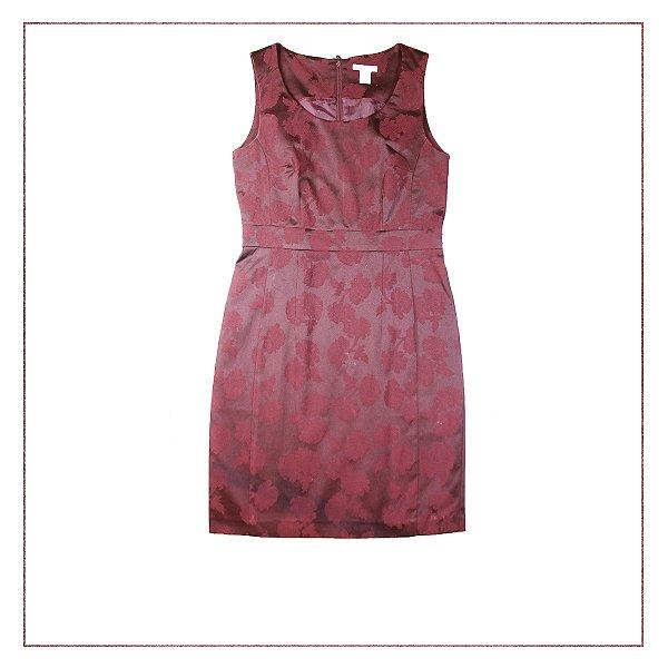 Vestido Vinho H&M