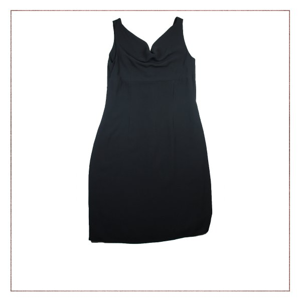 Vestido Preto Shoulder