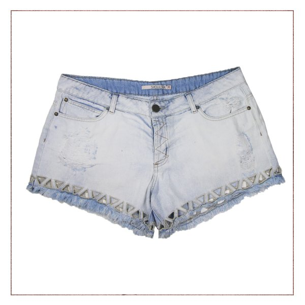 Shorts Jeans Shoulder