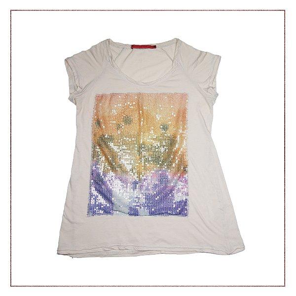 Camiseta Paête Espaço Fashion
