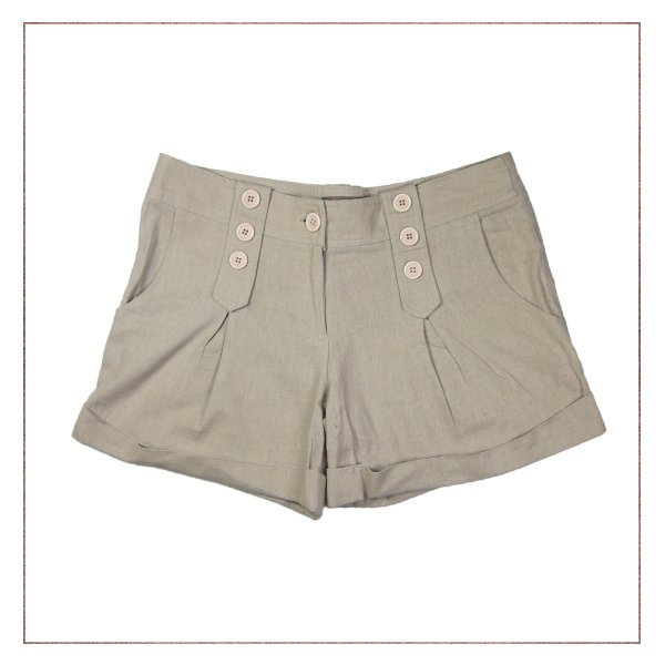Shorts Linho Unique Chic