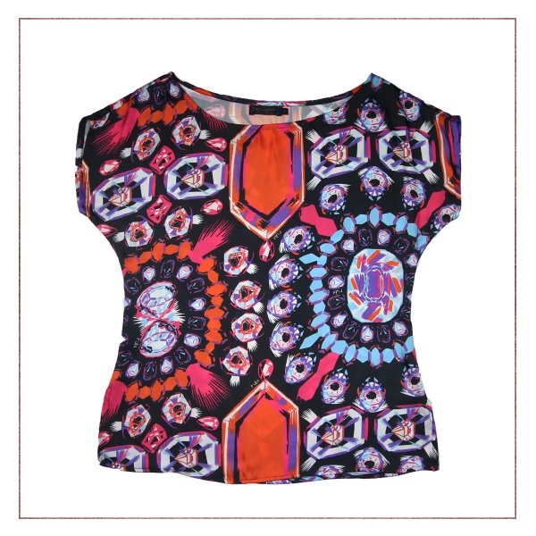 Blusa Diamantes Artmaia