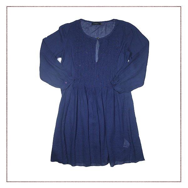Vestido Animale Azul