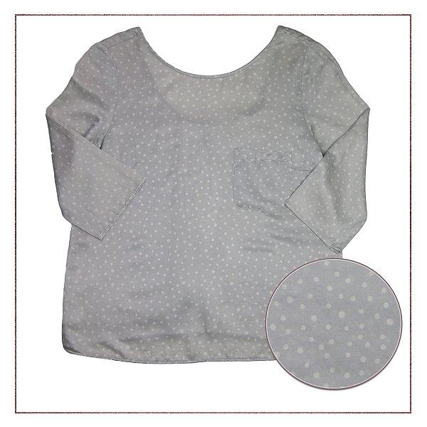 Camisa Zara Seda