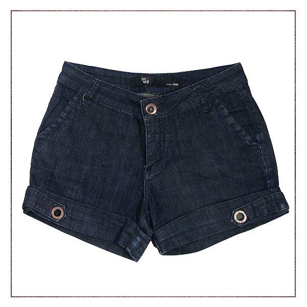 Shorts Jeans Ilhós