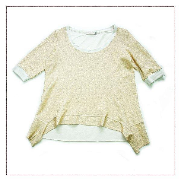 Blusa Dourada Andrea Schostak