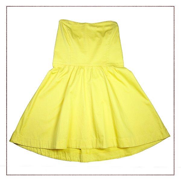 17be3c903 Vestido Tomara que Caia Amarelo Insp - Enfim Lucrei | O Melhor ...
