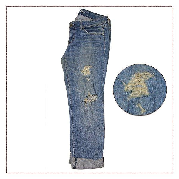 Calça Jeans American Eagle  Destroyed