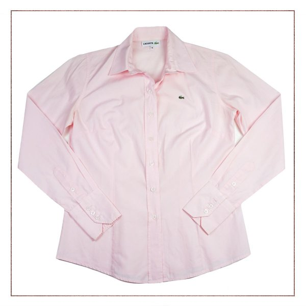 Camisa Lacoste Rosinha