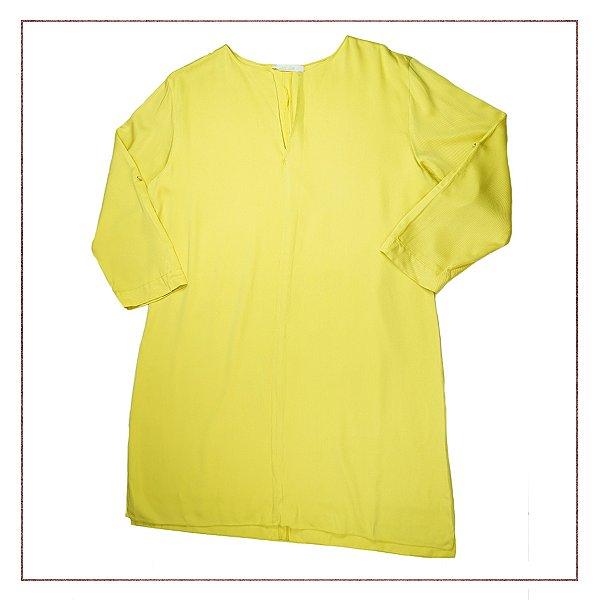 Vestido All Side Amarelo Limão