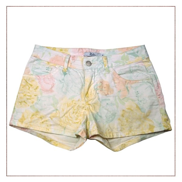 Shorts Daslu Flores