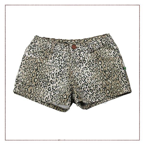 Shorts Oncinha PUC