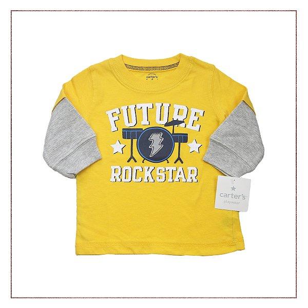 Camiseta RockStar Carter's- novo!