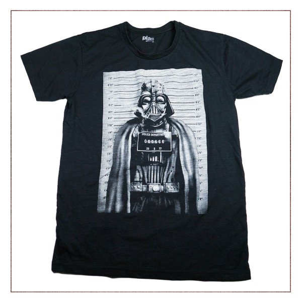 Camiseta Star wars Preto PLAS PLUMS