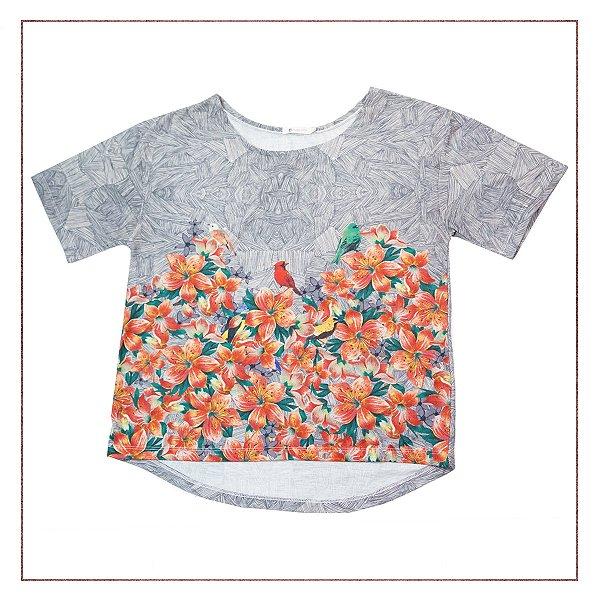Camiseta Maria Filó Estampada