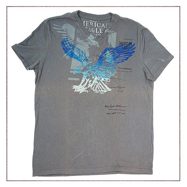 Camiseta American Eagle Cinza