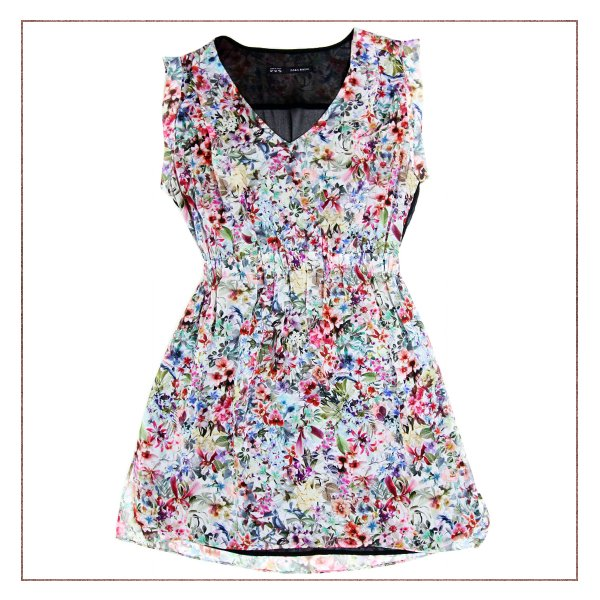 Vestido Zara Floral