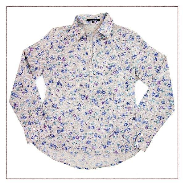 Camisa Luigi Bertolli Floral